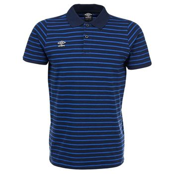 YARN DYED STRIPE POLO поло